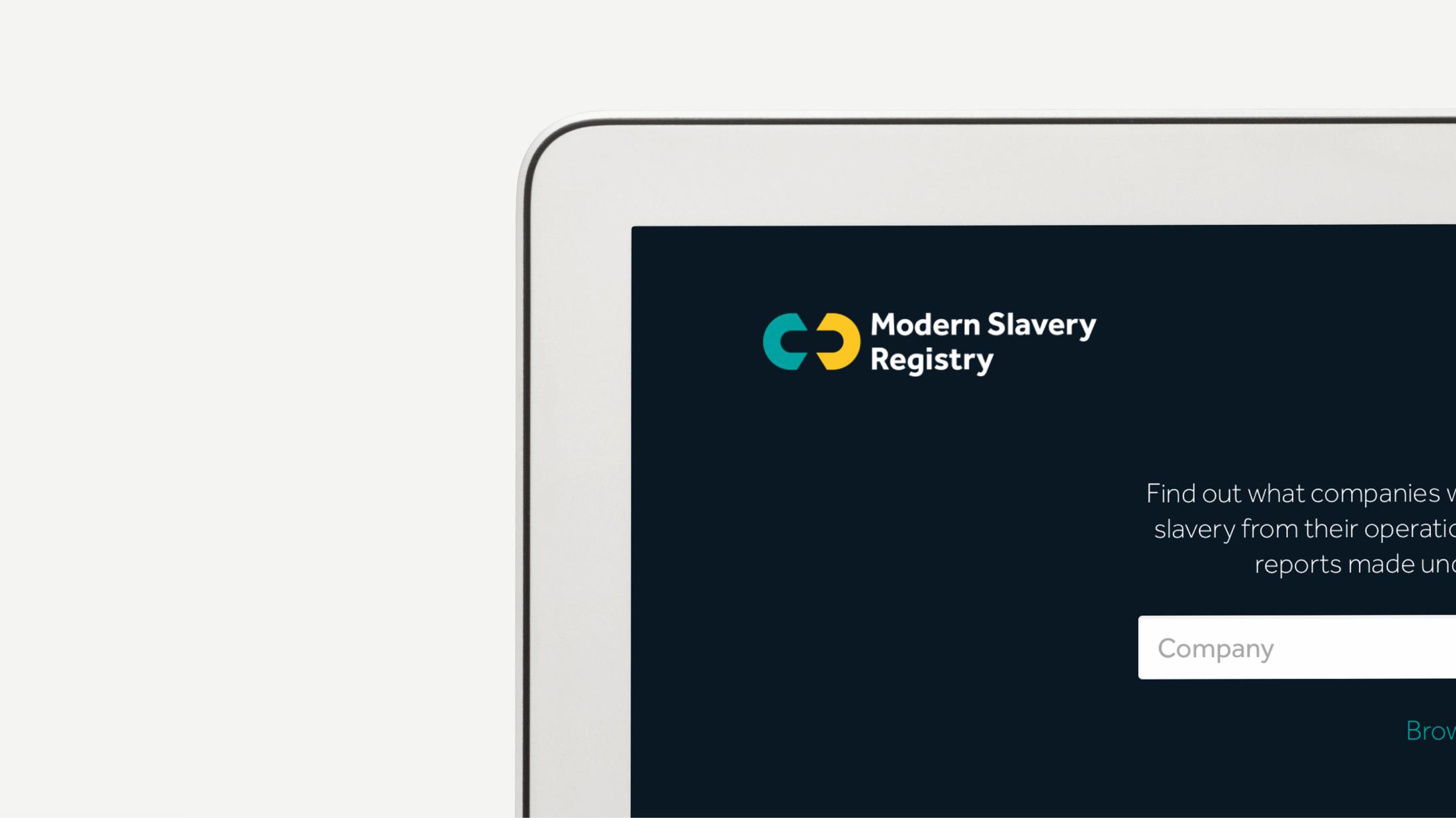 Modern Slavery Registry
